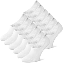 Lade das Bild in den Galerie-Viewer, Classics®Invisible Socks - 6er Pack - Weiss