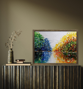 Down By The River 3D Canvas
