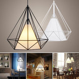 Metal  Hanging Lamp Iron Pendant Light