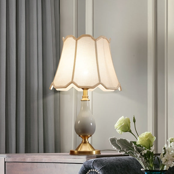 Modern Bedroom Gold Brushed Desk Lamp
