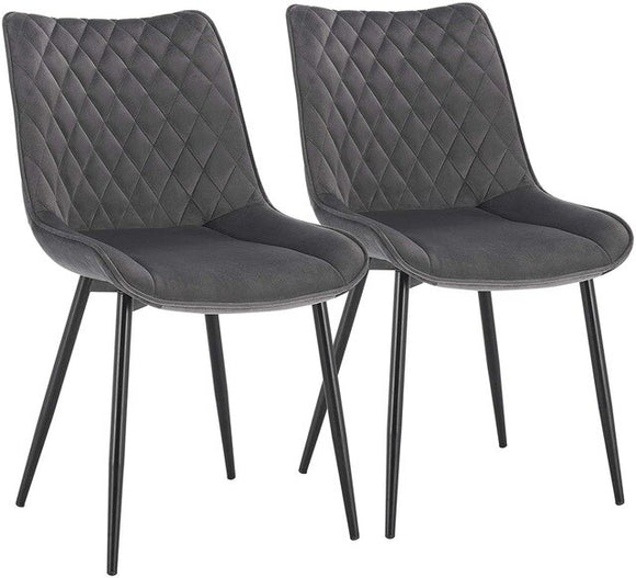 2PCS/Set Dining Room Upholstered Chairs