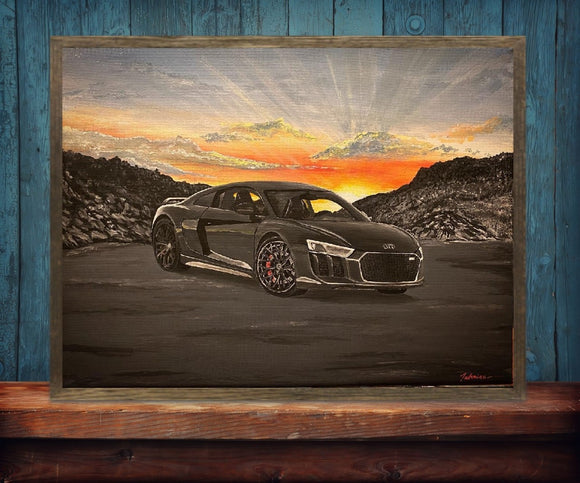 Audi R8 V10 Sunset Canvas