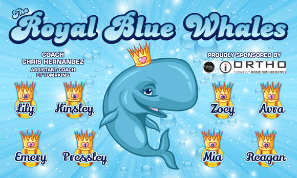 The Royal Blue Whales