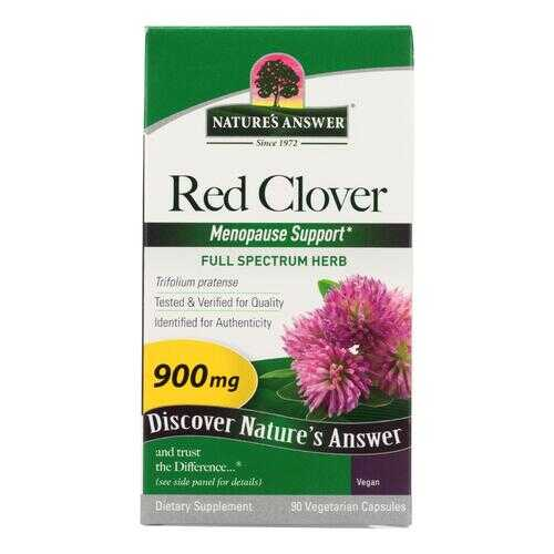 Nature's Answer - Red Clover Tops - 90 caps