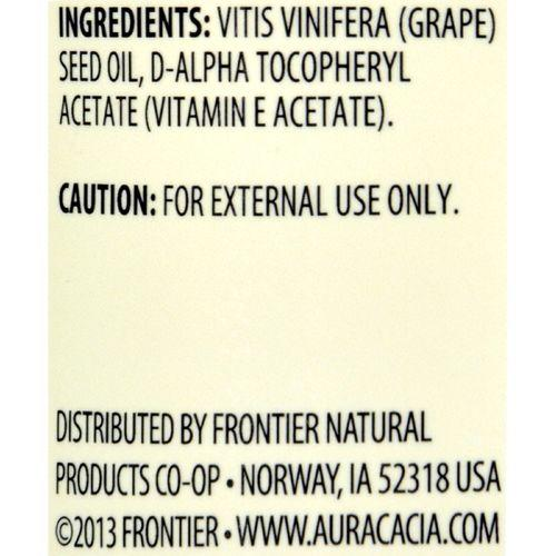 Aura Cacia - Natural Skin Care Oil Grapeseed - 16 fl oz