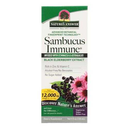 Nature's Answer - Sambucus Immune Support - 4 fl oz
