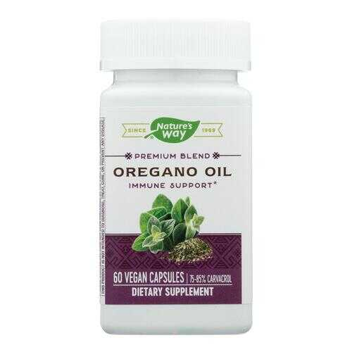 Nature's Way - Oregano Oil Standardized - 60 Vegetarian Capsules