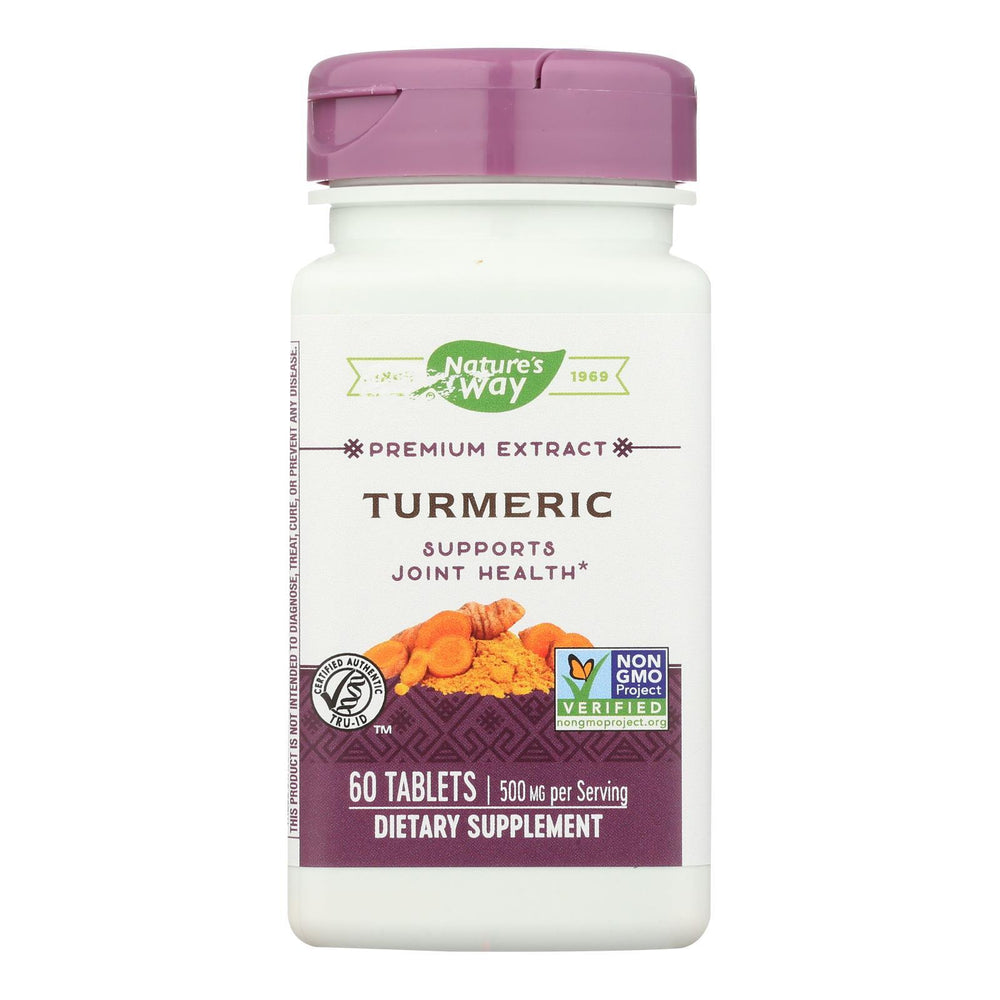 Nature's Way - Turmeric Standardized - 60 Tablets