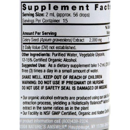 Nature's Answer - Celery Seed - 1 fl oz