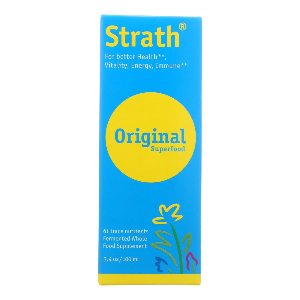 Bio-Strath Whole Food Supplement - Stress and Fatigue Formula - 3.4 oz