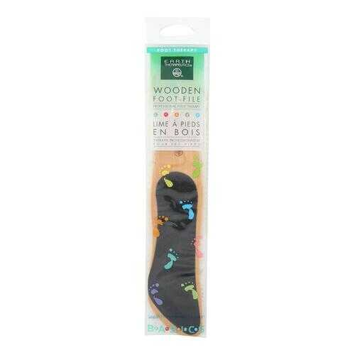 Earth Therapeutics Wooden Foot File - 1 File