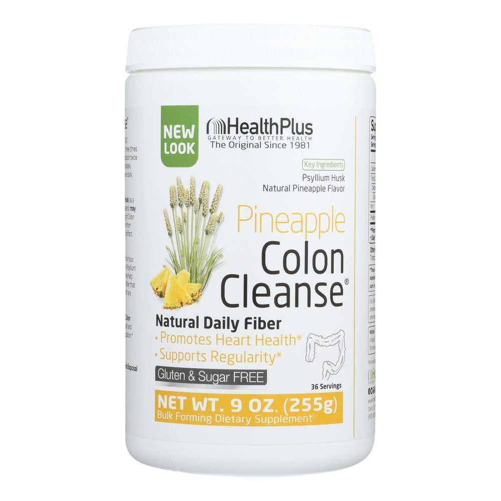 Health Plus - Colon Cleanse - Pineapple Stevia - 9 oz