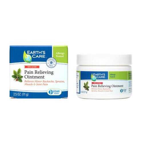 Earth's Care Pain Relieving Ointment - 2.5 oz
