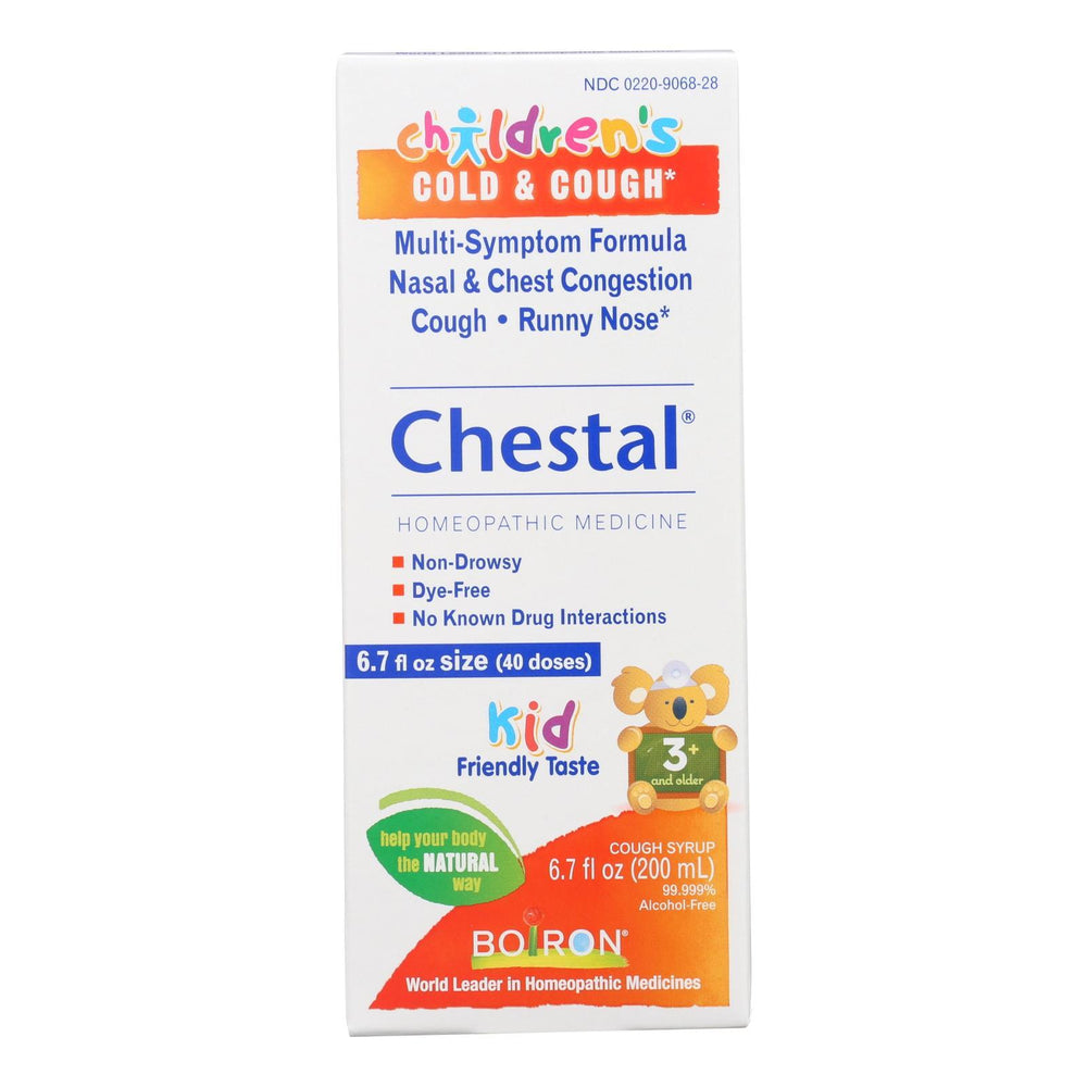 Boiron - Children's Chestal Cough and Cold - 6.7 oz