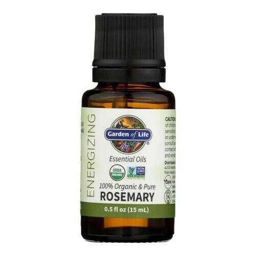 Garden Of Life - Essential Oil Rosemary - .5 FZ
