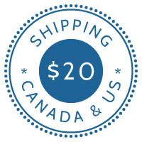 $20 Shipping Canada & US