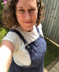 Tilly and the Buttons Frankie Tee and Cleo Dungaree Dress