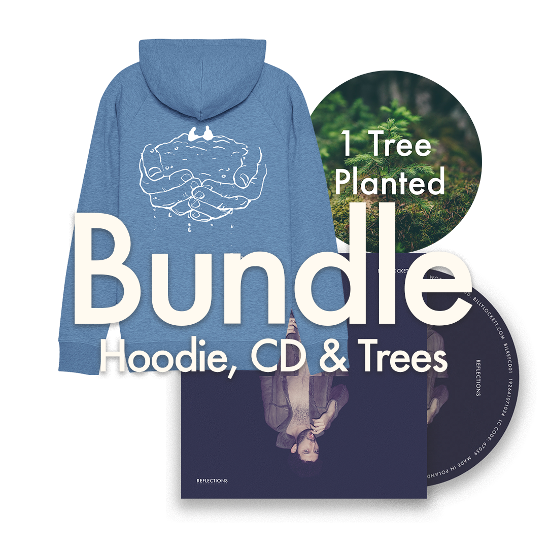"CD + Hoodie (""Begging"" Design) + 1 Tree Planted"