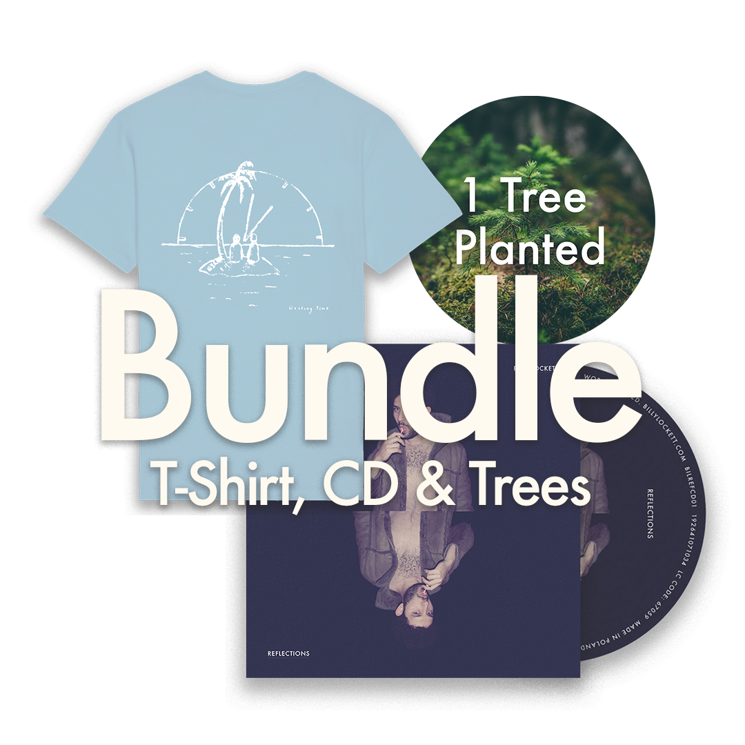 "CD + T-Shirt (""Wasting Time"" Design) + 1 Tree Planted"