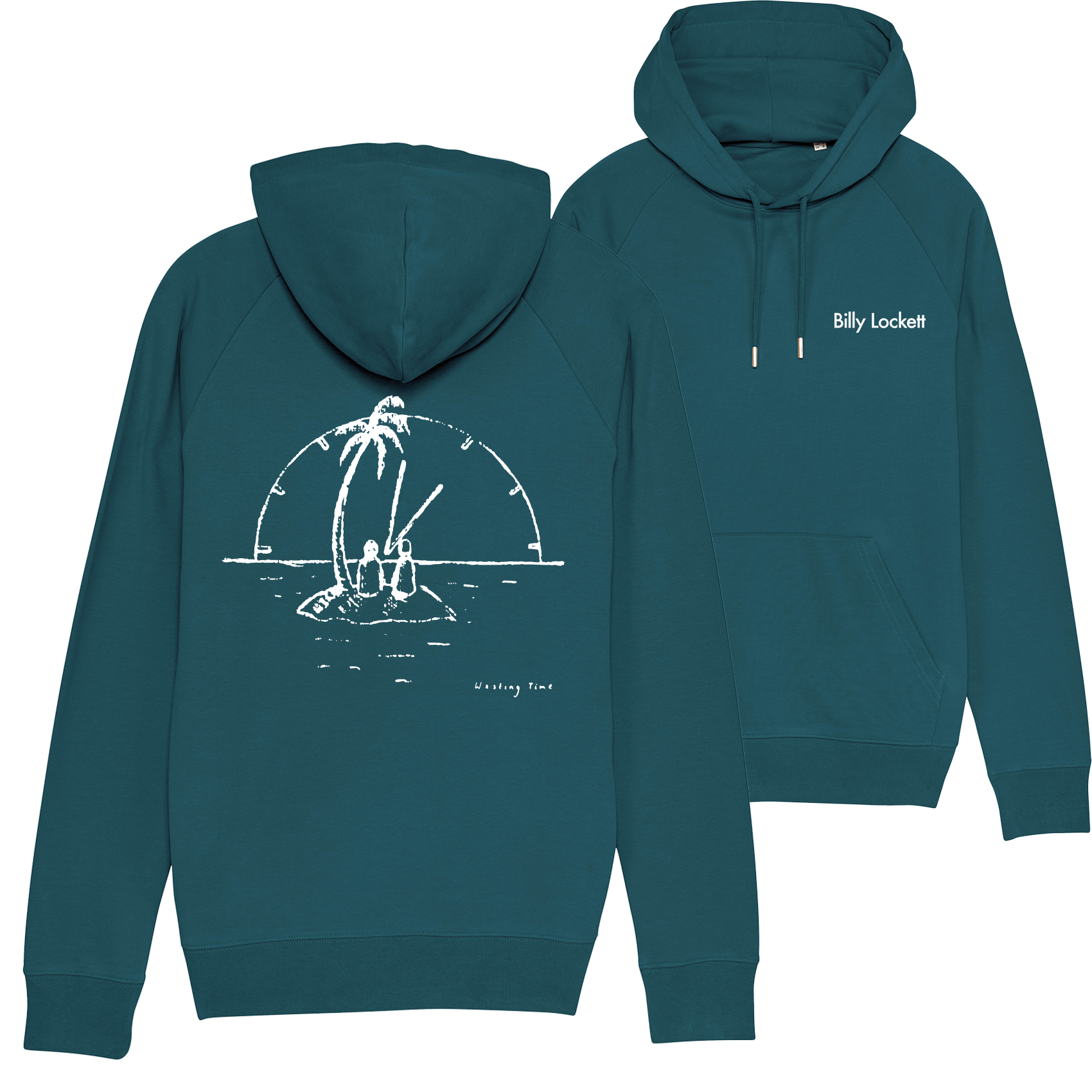 "CD + Hoodie (""Wasting Time"" Design) + 1 Tree Planted"