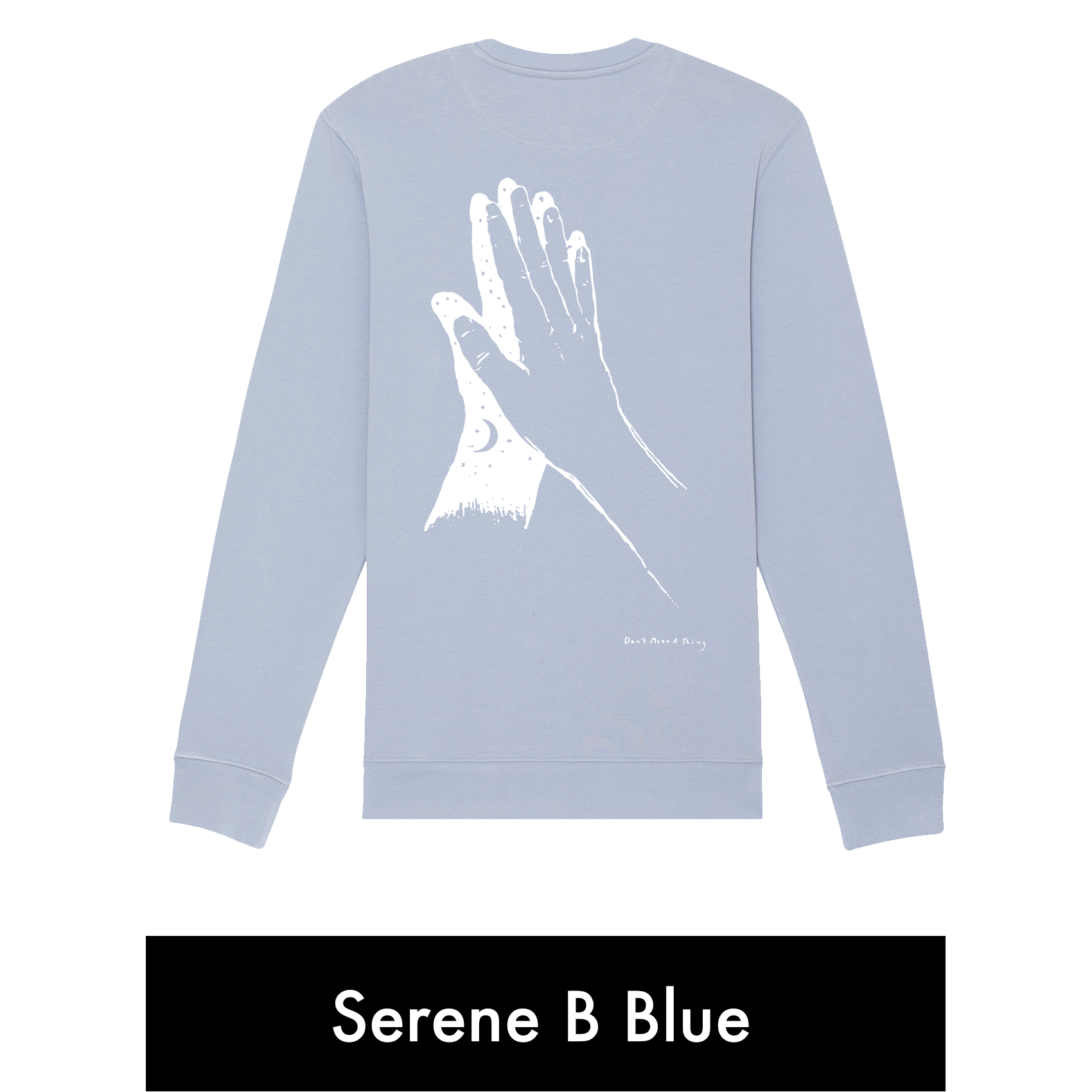 "Sweatshirt (""Don't Mean A Thing"" Design)"