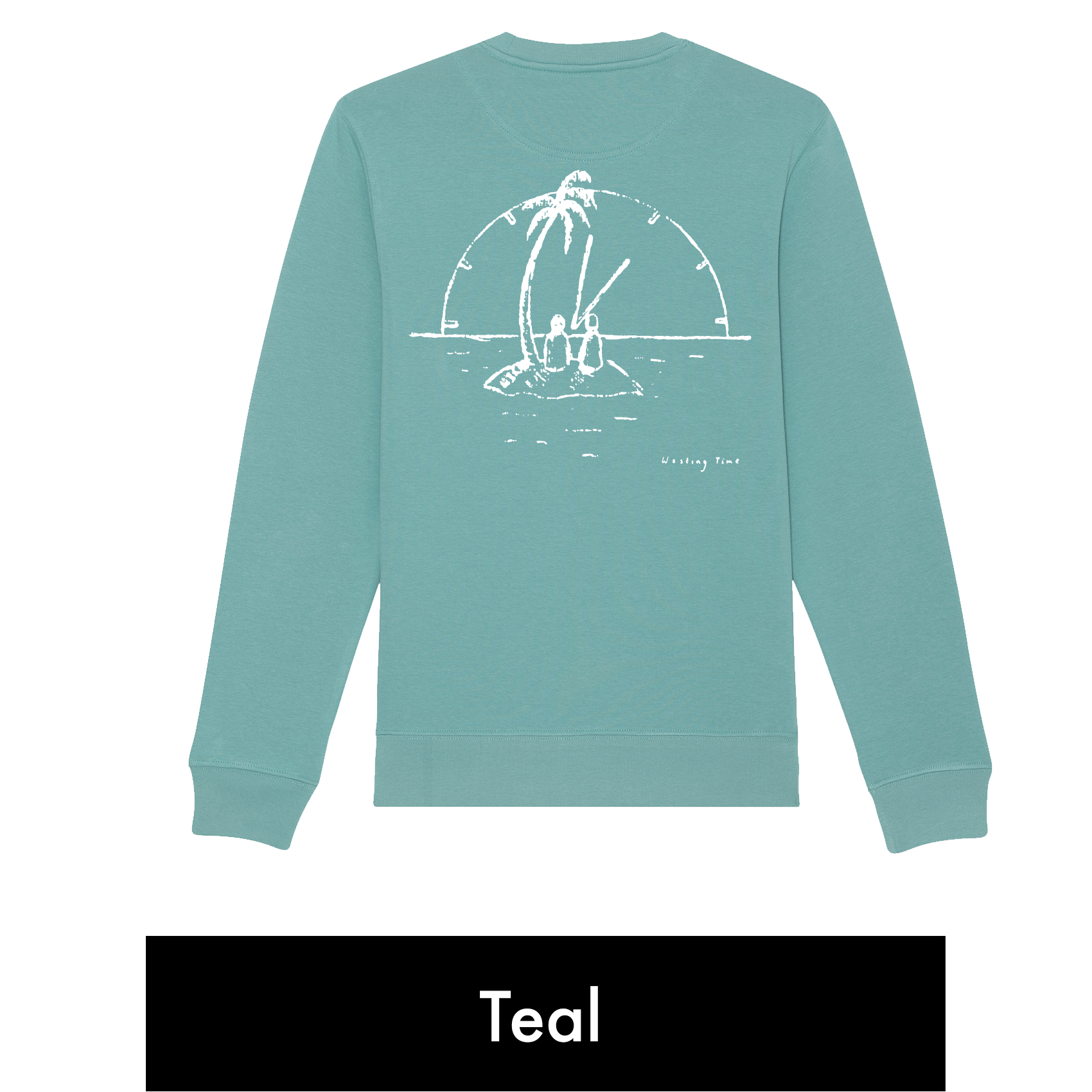 "CD + Sweatshirt (""Wasting Time"" Design) + 1 Tree Planted"