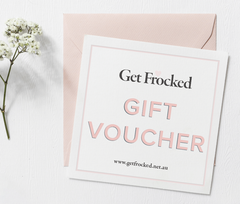 GET FROCKED GIFT CARD