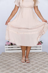 PYPAH DRESS - BLUSH