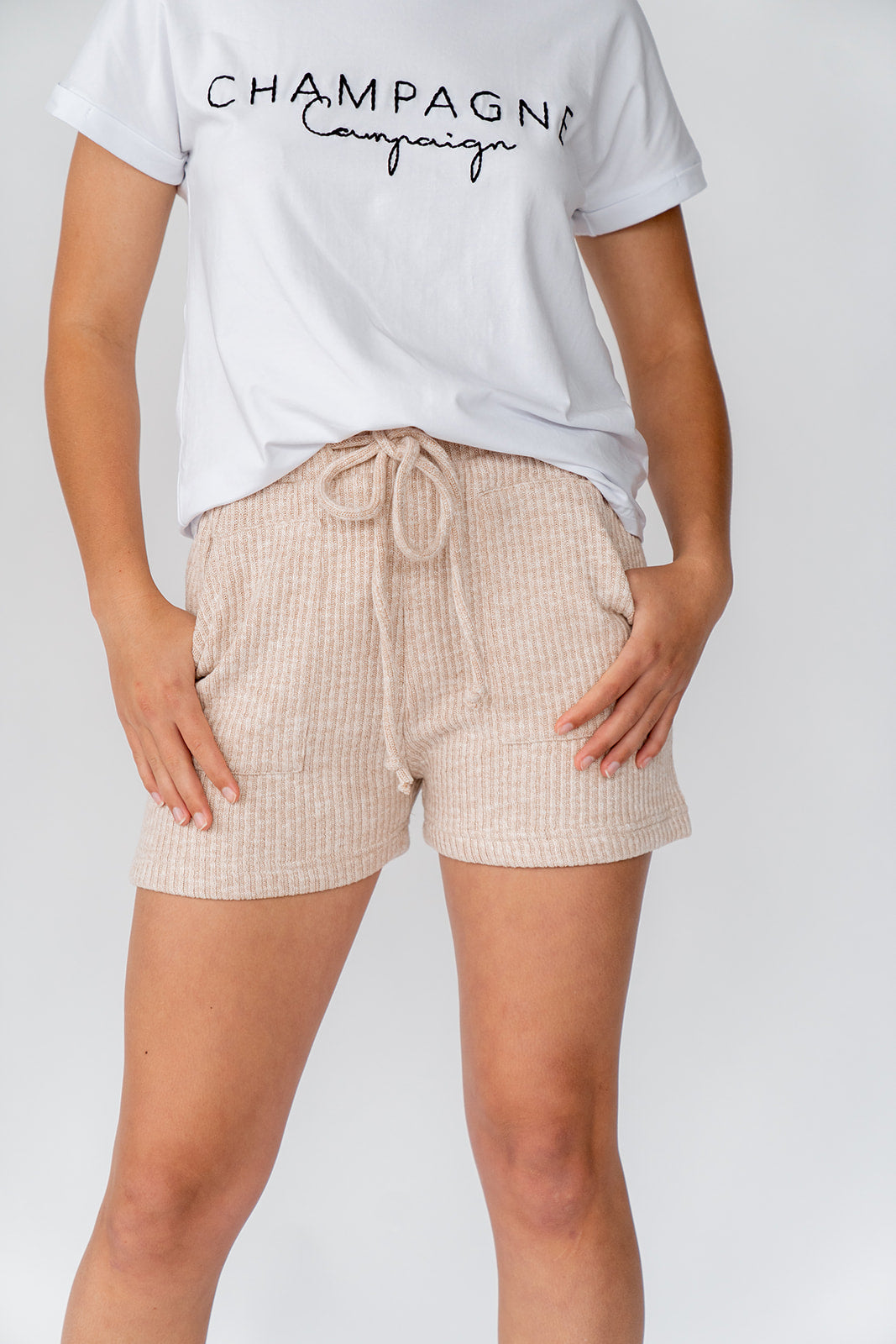 CHARM SHORT - CAPPUCCINO
