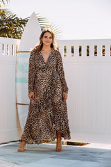 HADID WRAP DRESS