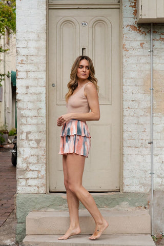 ANNISTON SHORTS - CORAL