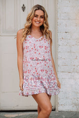SUMMER MINI DRESS - LILAC