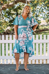 NYAH DRESS - BABY BLUE