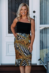 RENATA SKIRT - GOLD