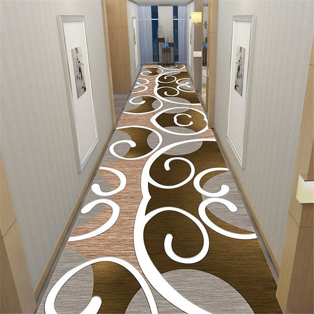 Floral Doorway Rug Bedroom Decor Bedside Mat Flannel Soft Anti-slip Kitchen Balcony Area Rugs Corridor Carpet for Living Room