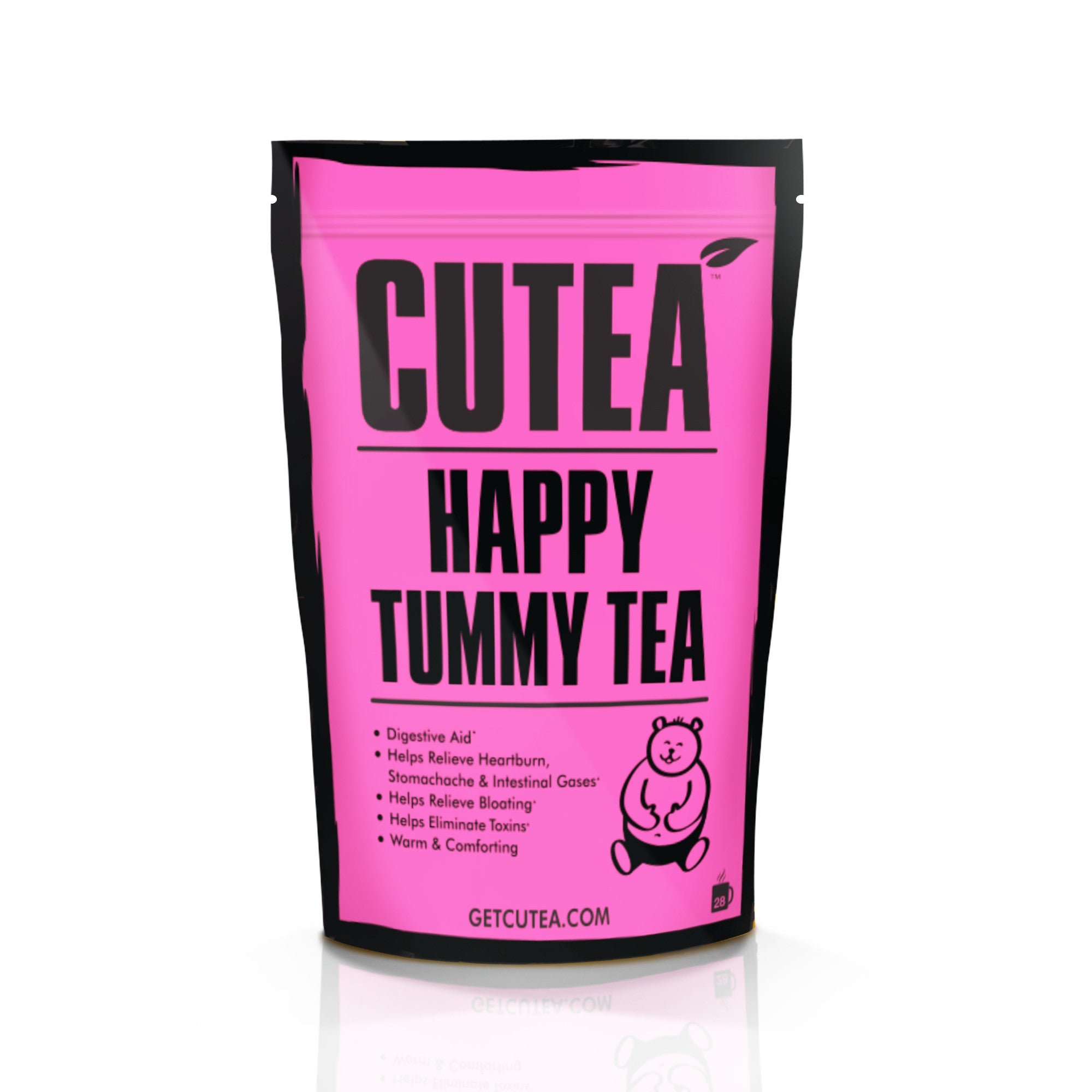 CUTEA Happy Tummy Tea - 28 Bags