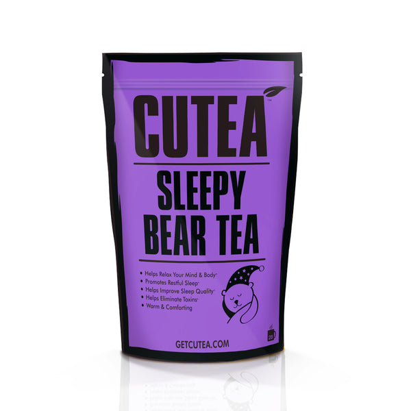 CUTEA Sleepy Bear   Tea - 28 Bags