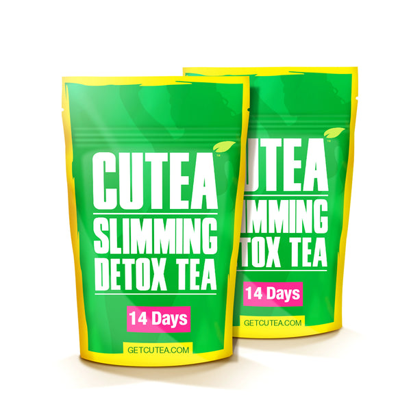 CUTEA Slimming Detox Tea - 28 Days