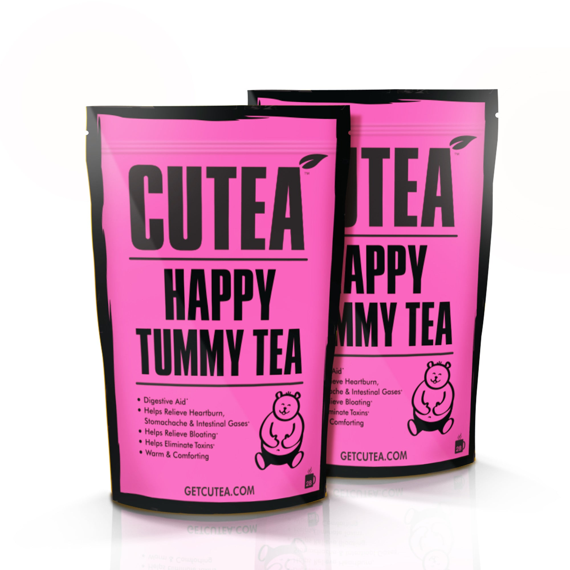 CUTEA Happy Tummy Tea - 56 Bags