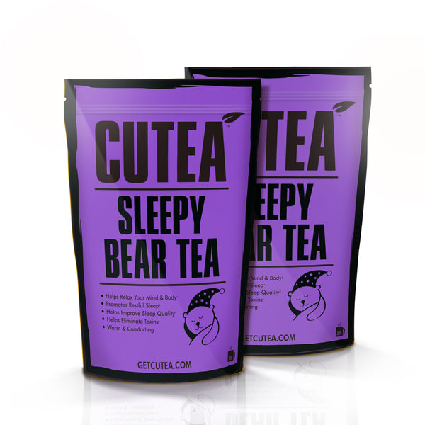 CUTEA Sleepy Bear Tea - 56 Bags