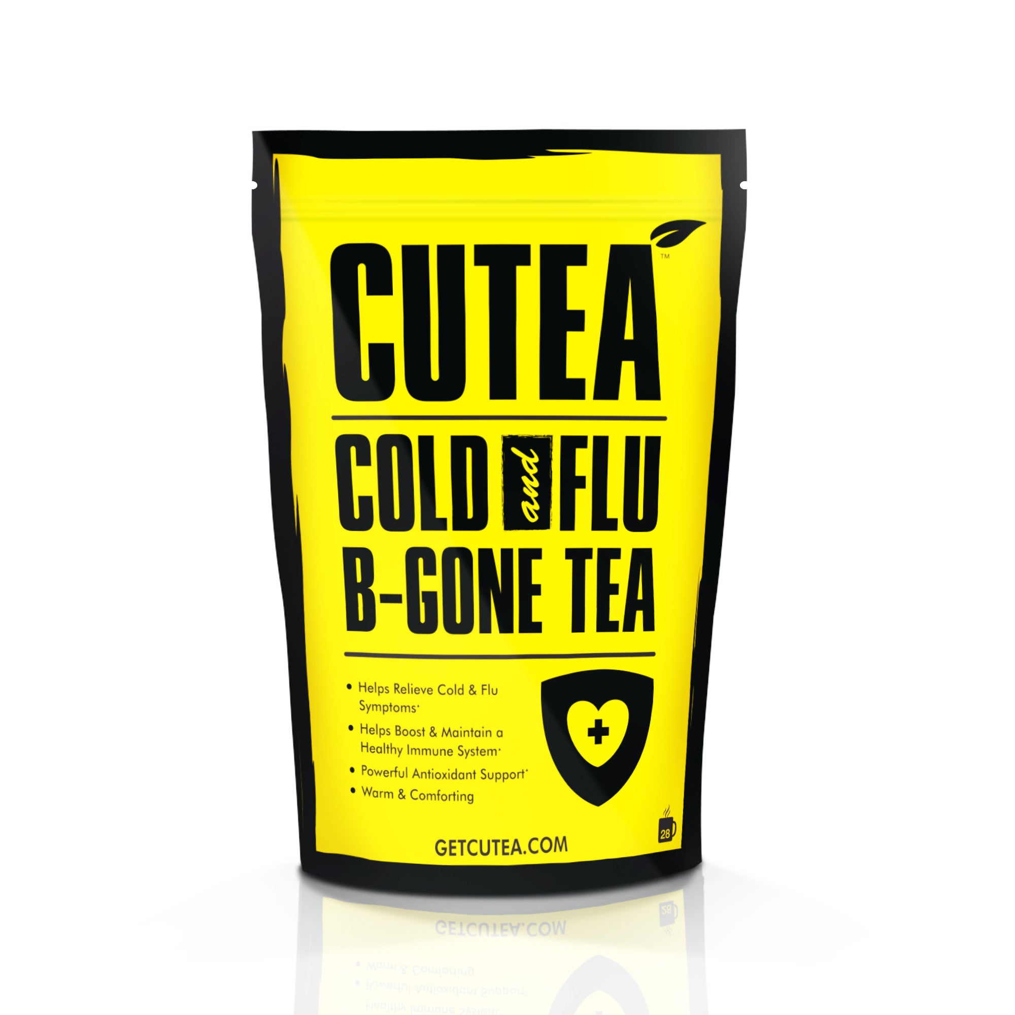 CUTEA Cold and Flu B-Gone Tea - 28 Bags
