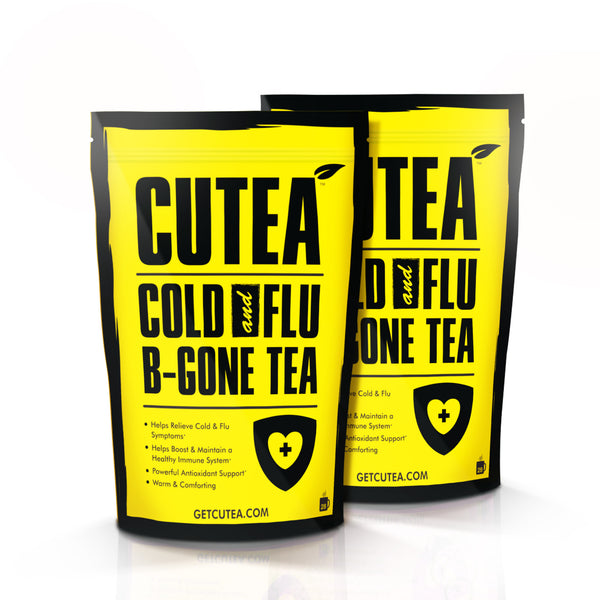 CUTEA Cold and Flu B-Gone Tea - 56 Bags