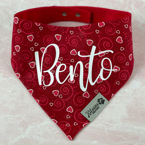Personalized Button-Snap Bandanas