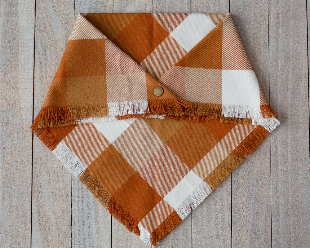 Pumpkin Spice Dog Bandana