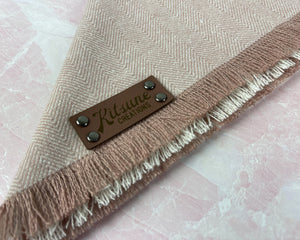 Dusty Rose Dog Bandana