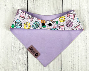 Easter Coffee Dog Bandana