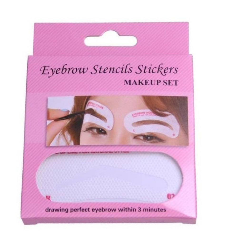Eyebrow Stencil Stickers