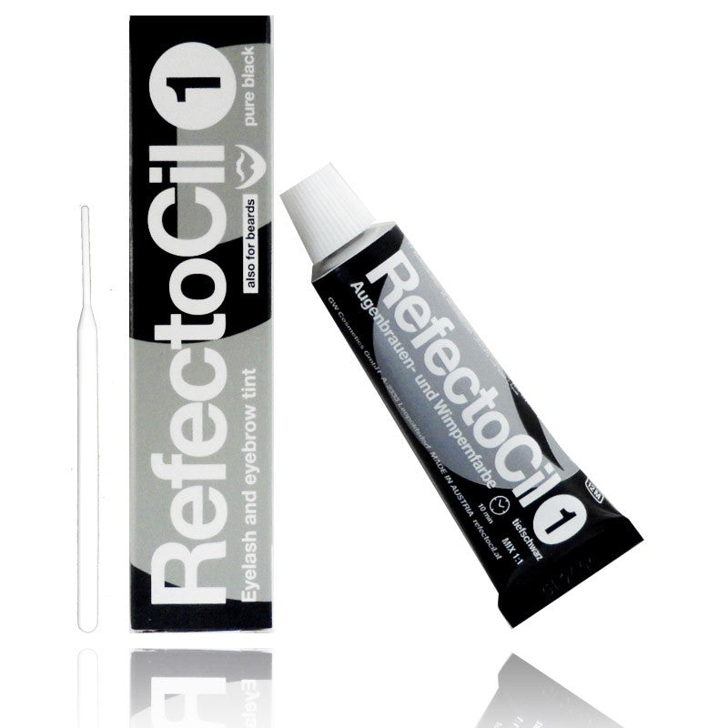 Pure Black Refectocil Tint