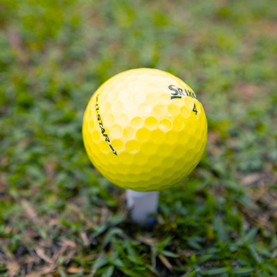 Srixon Q Star Yellow <br/> Used Golf Balls