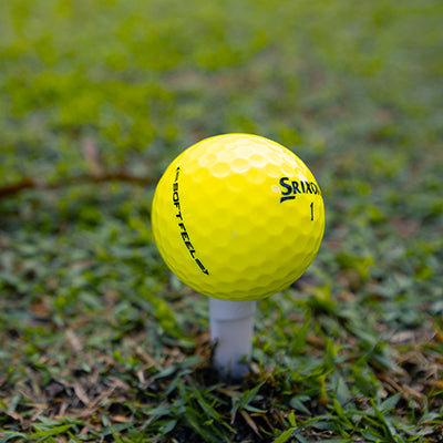 Srixon Soft Feel Yellow <br/> Used Golf Balls